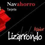 Tarjeta Navahorro Asador Lizarrondo