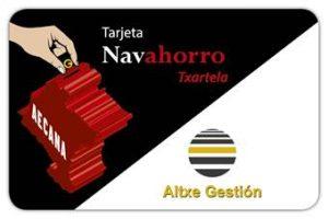 Tarjeta Navahorro Altxe Gestión